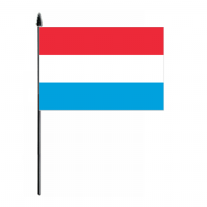 Luxembourg Country Hand Flag - Medium.